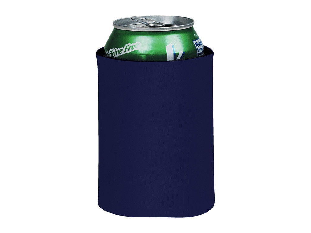 Складной держатель-термос Crowdio для бутылок, темно-синий (артикул 10041703)