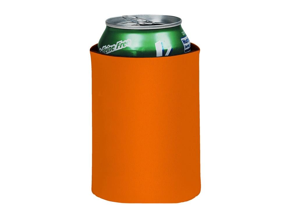 Складной держатель-термос Crowdio для бутылок, оранжевый (артикул 10041704)