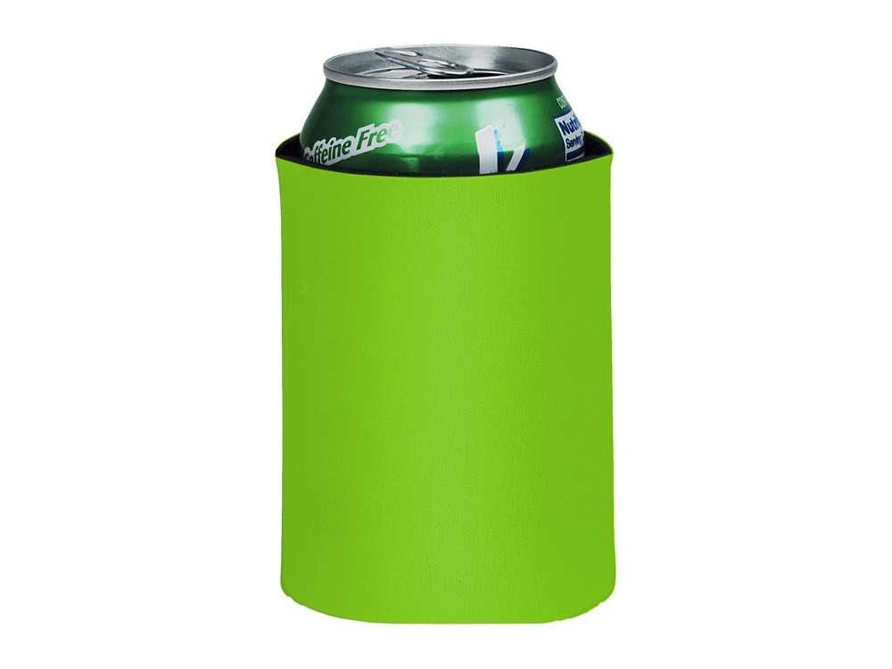 Складной держатель-термос Crowdio для бутылок, лайм (артикул 10041706)