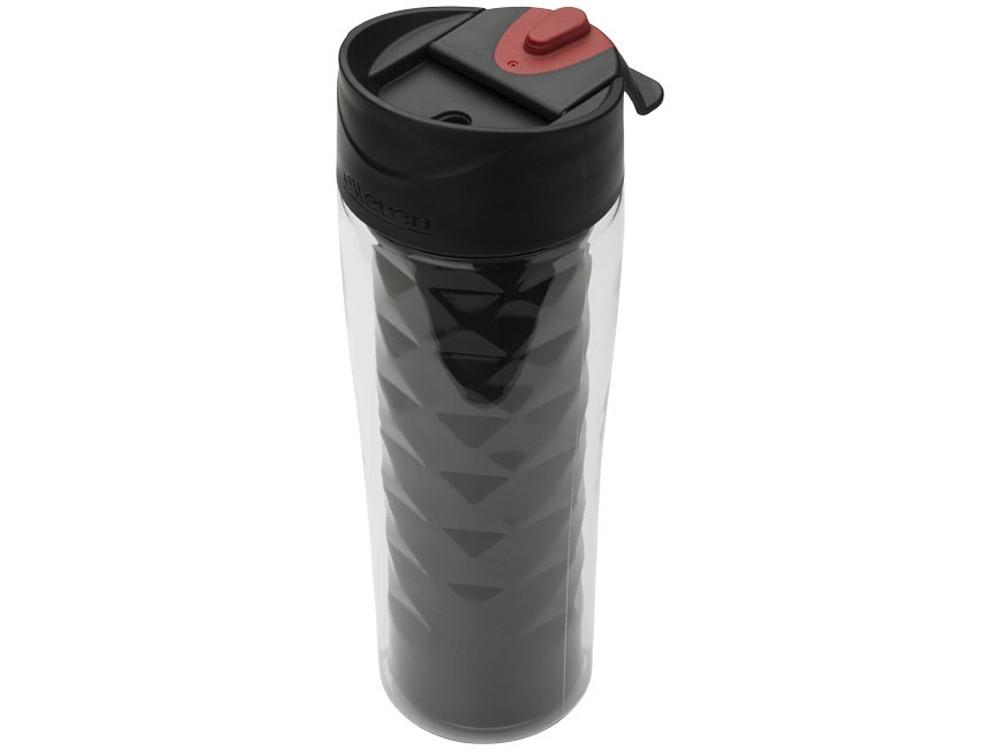 Термобутылка Traverse 2 в 1, черный (артикул 10043200)