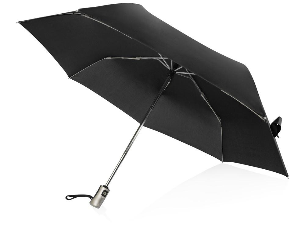 Зонт складной Оупен. Voyager, черный (артикул 905107)