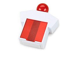 Подставка под скрепки и стикеры Office-boy, белый/красный (артикул 621601)