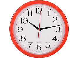 Часы настенные Attendee, красный (артикул 436006.03)