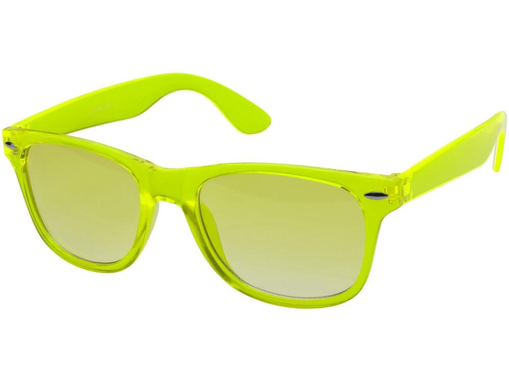 Очки солнцезащитные Sun Ray с прозрачными линзами, лайм (артикул 10041403)