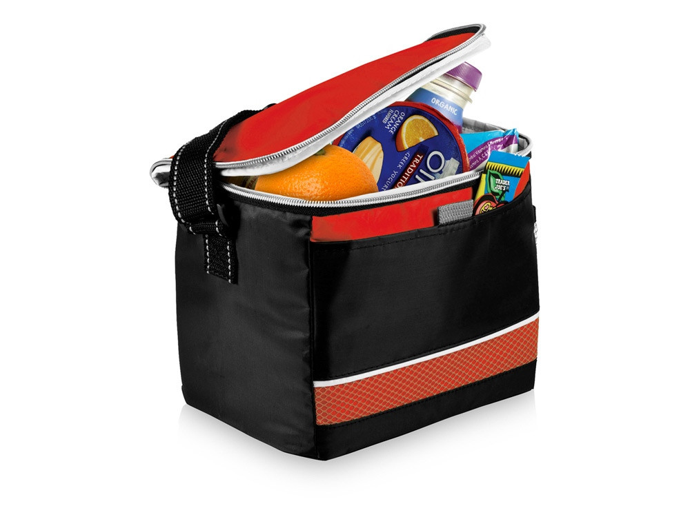Спортивная сумка-холодильник Levi, черный/красный (артикул 12016902)