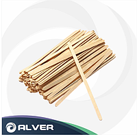 Размешиватель деревянный прямой 180мм (1000 шт в упак)