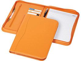 Папка A4 Ebony на молнии, оранжевый (артикул 11998601)