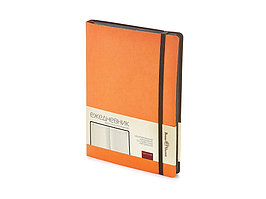 Ежедневник А5 недатированный Megapolis Soft, оранжевый (артикул 3-470.01)
