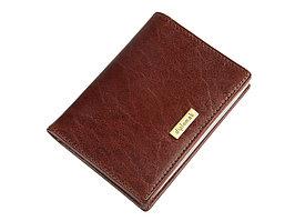 Футляр для кредитных и дисконтных карт Diplomat (Дип, коричневый (артикул 58673)