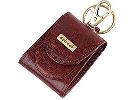 Брелок-монетница Diplomat, коричневый (артикул 58671)