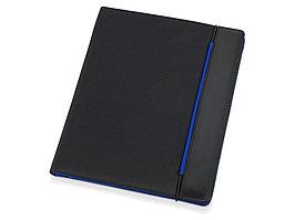 Папка для документов Делос, черный/синий (артикул 923902)