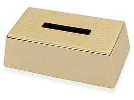 Копилка Слиток золота, золотистый (артикул 519024)