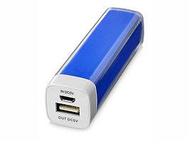 Портативное зарядное устройство Flash 2200 мА/ч, ярко-синий (артикул 12357101)
