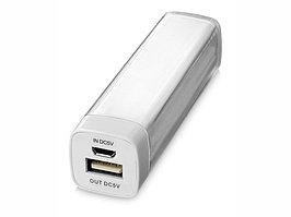 Портативное зарядное устройство Flash 2200 мА/ч, белый (артикул 12357102)