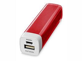 Портативное зарядное устройство Flash 2200 мА/ч, красный (артикул 12357104)