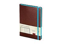 Ежедневник А5 недатированный Megapolis Soft, коричневый (артикул 3-470.06), фото 1
