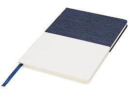Блокнот А5 двухцветный, синий (артикул 10723601)
