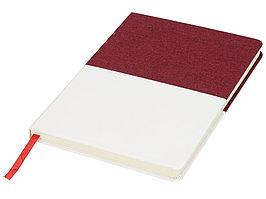 Блокнот А5 двухцветный, красный (артикул 10723602)