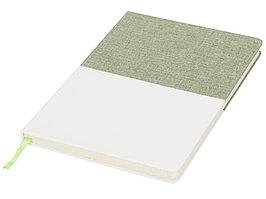 Блокнот А5 двухцветный, зеленый (артикул 10723603)