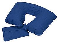Подушка надувная Сеньос, синий (артикул 839422)