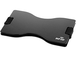 Чехол для карт RFID Adventurer, черный (артикул 13004000)