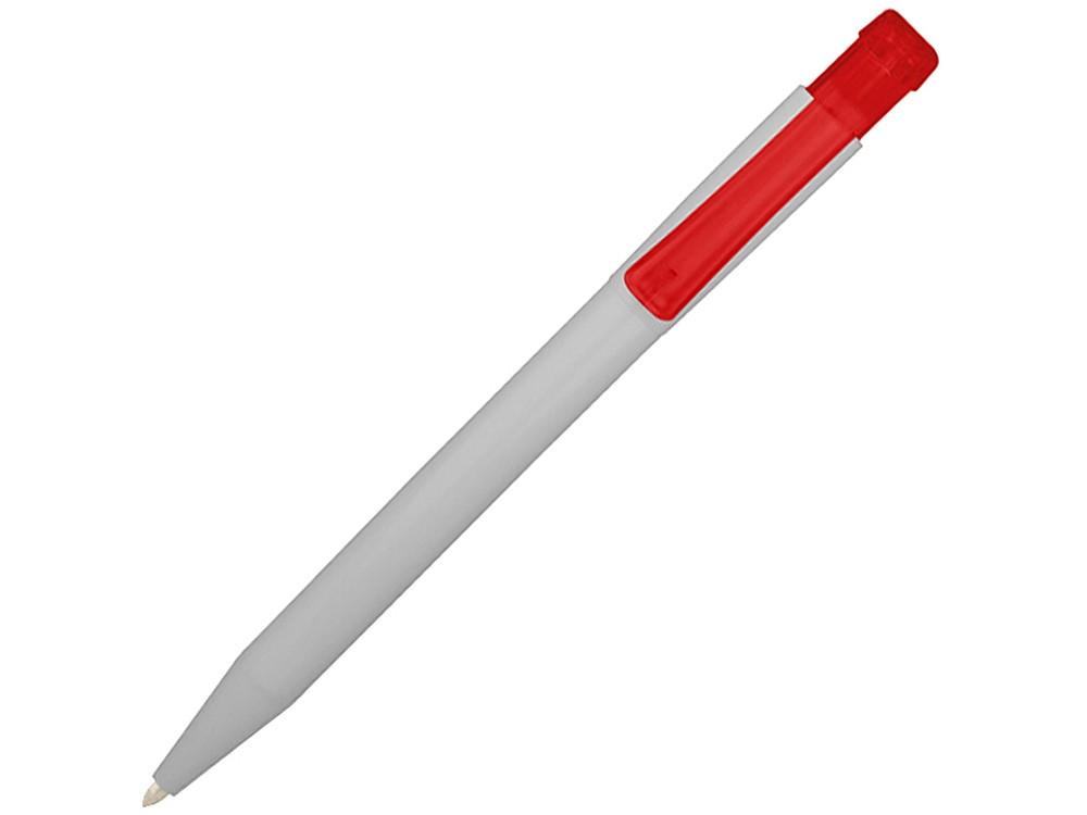 Шариковая ручка York, белый/красный (артикул 10685602)