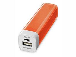 Портативное зарядное устройство Flash 2200 мА/ч, оранжевый (артикул 12357105)