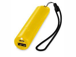 Портативное зарядное устройство Beam, 2200 mAh, желтый (артикул 12359306)