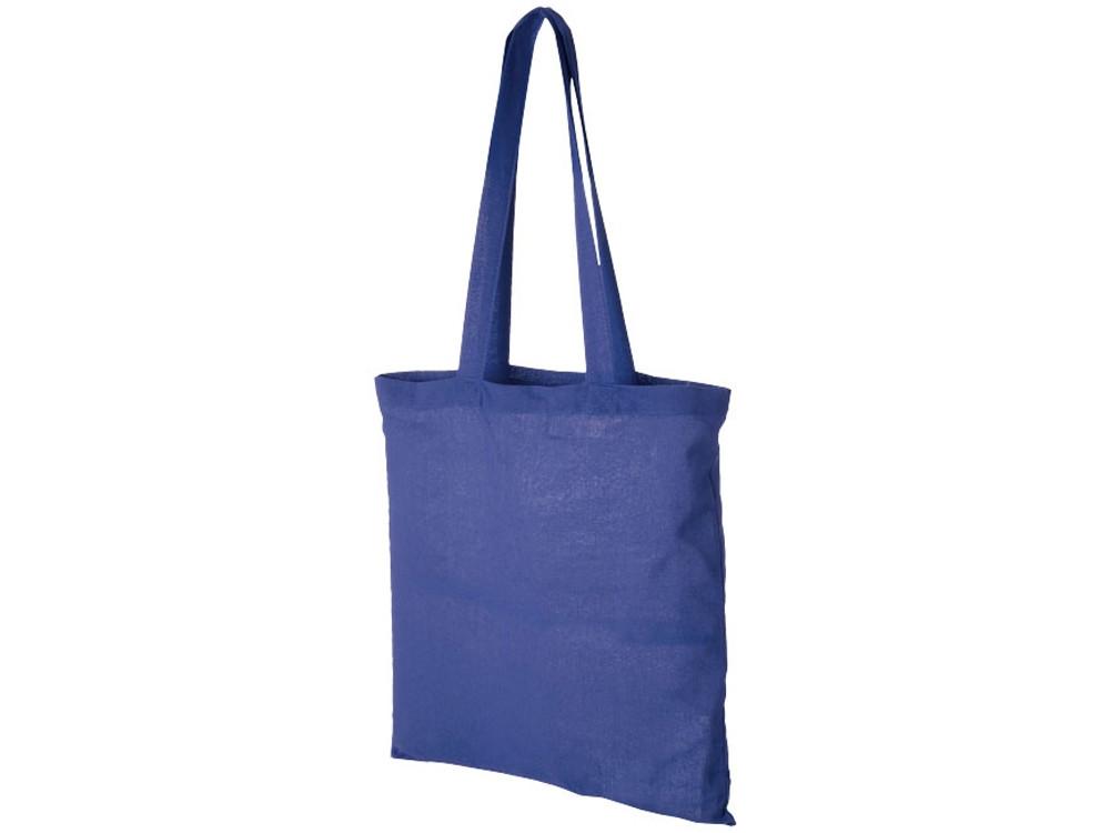 Хлопковая сумка Madras, ярко-синий (артикул 12018104)