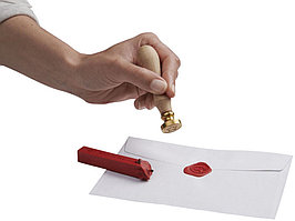 Набор для запечатывания писем, белый (артикул 10724000)