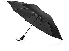 Зонт складной Андрия, черный (артикул 906147)
