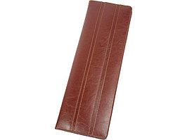 Чехол для галстуков Alessandro Venanzi, коричневый (артикул 28583)