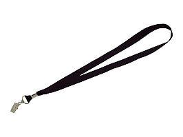 Шнурок с поворотным зажимом Igor, черный (артикул 10219900)