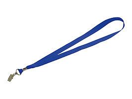Шнурок с поворотным зажимом Igor, ярко-синий (артикул 10219901)