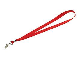 Шнурок с поворотным зажимом Igor, красный (артикул 10219902)