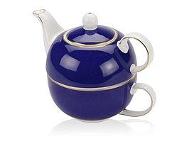 Набор Эгоист: чайник на 200 мл, чашка на 220 мл в подарочной упаковке (артикул 829842)