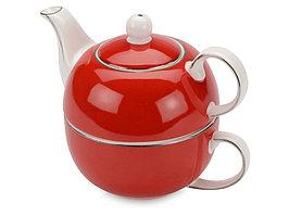 Набор Эгоист: чайник на 200 мл, чашка на 220 мл в подарочной упаковке (артикул 829841)