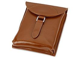 Набор аксессуаров для чистки обуви Кэрролтон, коричневый/натуральный (артикул 841428)