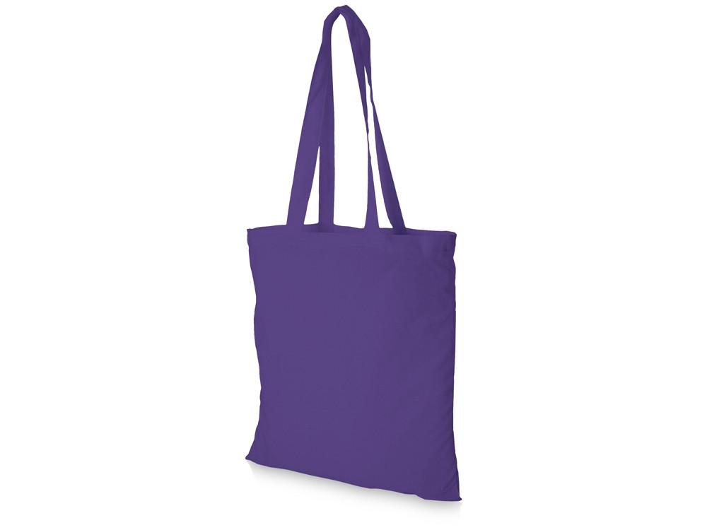 Хлопковая сумка Madras, лавандовый (артикул 12018110)