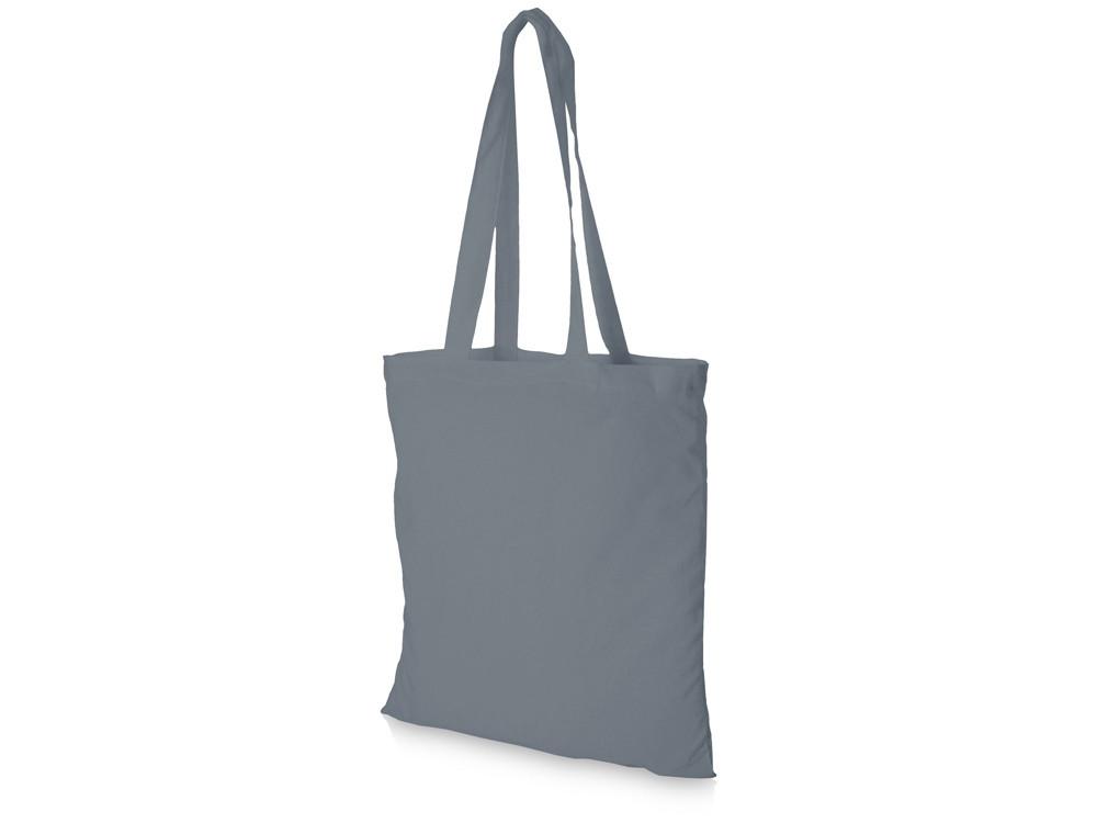 Хлопковая сумка Madras, серый (артикул 12018111)