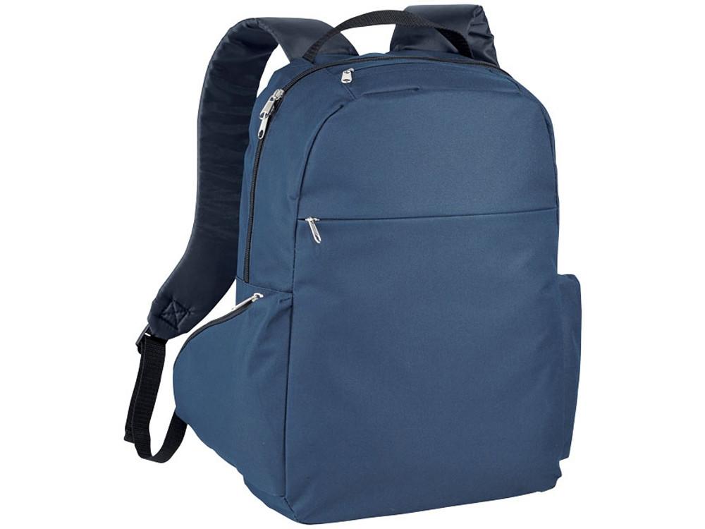 Компактный рюкзак для ноутбука 15,6, темно-синий (артикул 12018601)