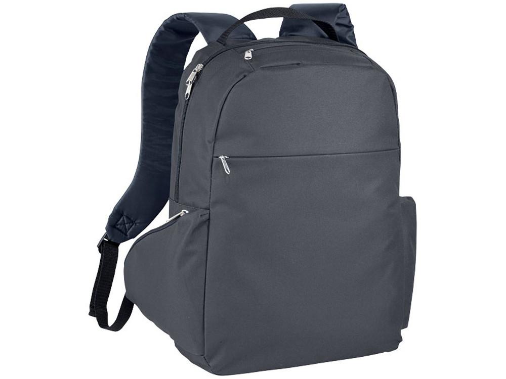 Компактный рюкзак для ноутбука 15,6, темно-серый (артикул 12018602)