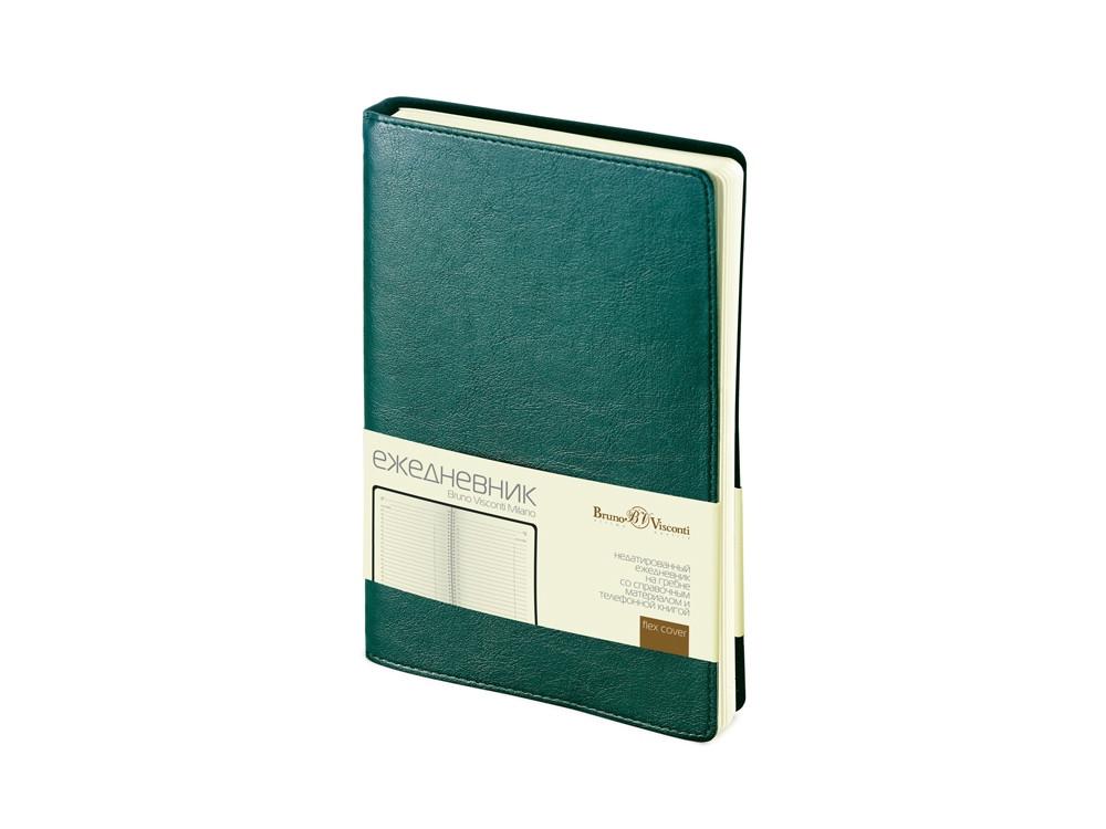 Ежедневник А5 недатированный Milano, зеленый (артикул 3-415.07)