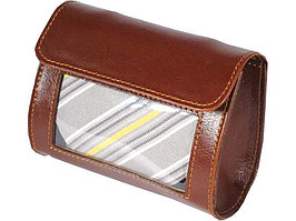 Футляр для галстука Alessandro Venanzi, коричневый (артикул 28584)