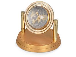 Часы Карта мира, золотистый (артикул 142505)