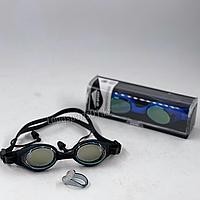 Очки для плавания с берушами зажим для носа (комплект)