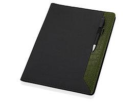 Папка для документов Nadine, черный/зеленый (артикул 923983)