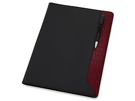 Папка для документов Nadine, черный/темно-красный (артикул 923981)