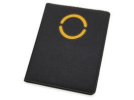 Папка для документов Эдингбург, черный/желтый (артикул 923998)