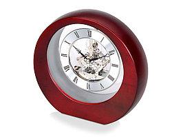 Часы настольные Эдервилль, коричневый/серебристый (артикул 108009)